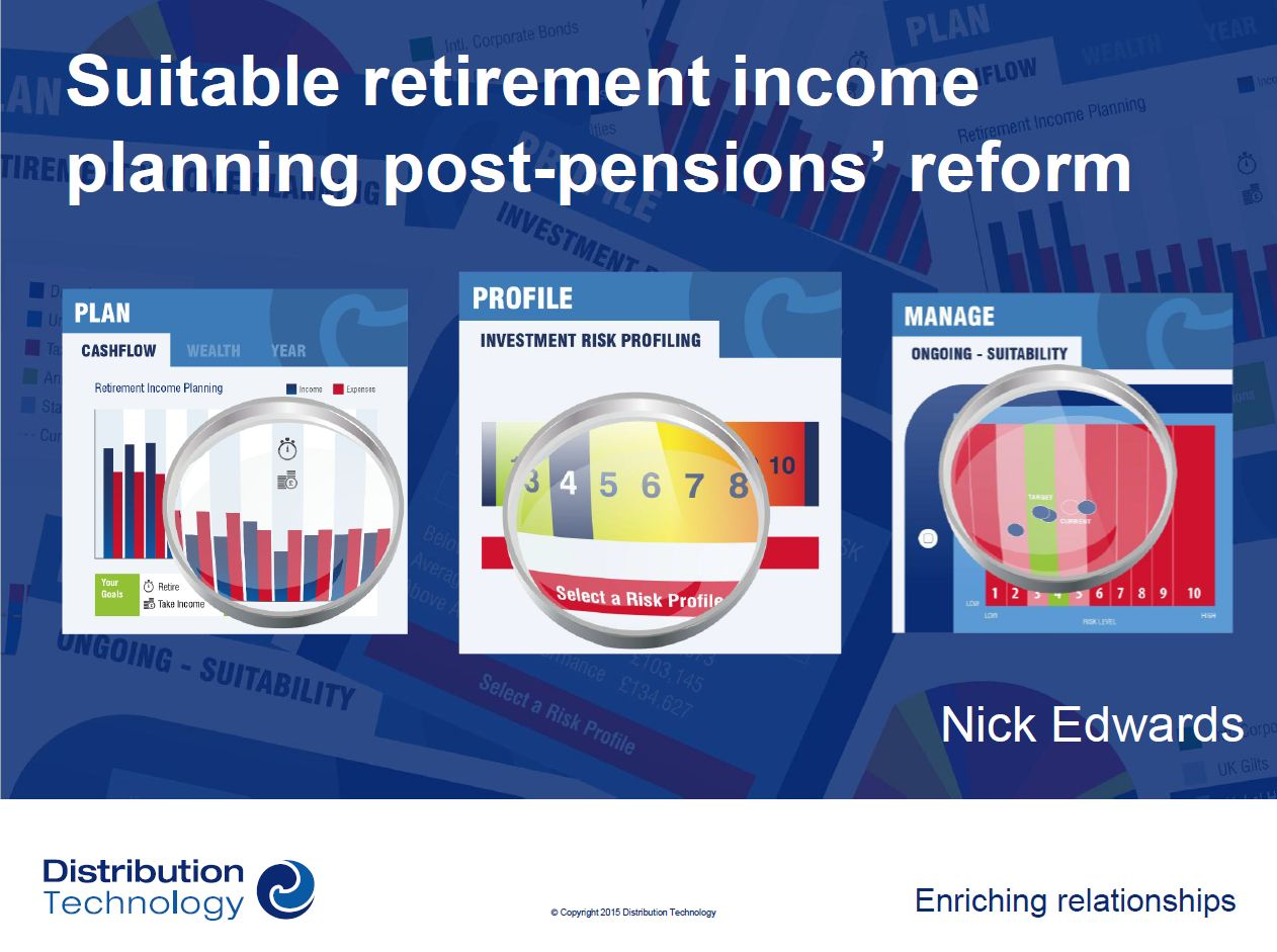 Suitable retirement income